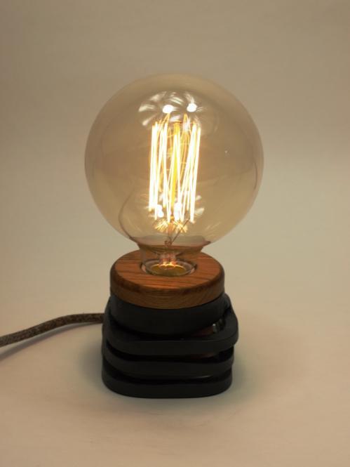 Edisonlampe Schmiededeisern